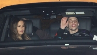 Kate Beckinsale and Pete Davidson have dinner at Nobu