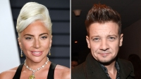 Lady Gaga Jeremy Renner Hanging Out