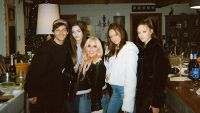 Louis Tomlinson and His Sisters Félicité, Charlotte a.k.a. Lottie, Phoebe, and Daisy