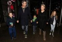 Megyn Kelly, husband, Doug Brunt and their kids head to dinner at Cibo e Vino