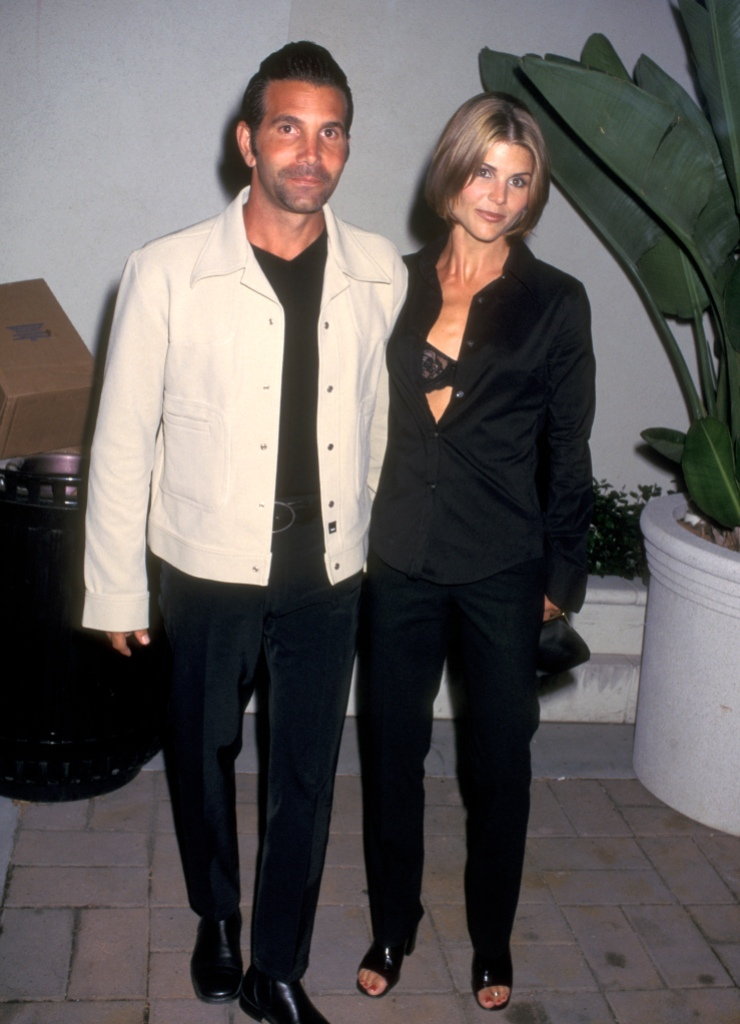 """Actress Lori Loughlin and husband Mossimo Giannulli attend the Party to Celebrate the Release of Janet Jackson's New Album - """"The Velvet Rope"""" on September 9, 1997"""