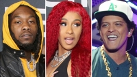 Offset, You OK? Cardi B and Bruno Mars Pack on PDA in Raunchy New Music Video