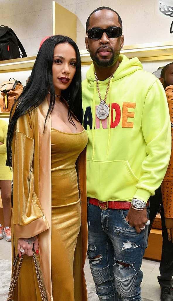 Rich Dollaz and Safaree Samuels Get in Heated Confrontation Over Erica Mena at 'Love & Hip Hop' Reunion
