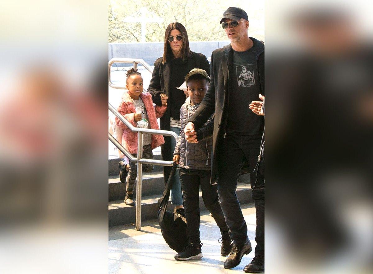 Sandra Bullock and Boyfriend Bryan Randall Spend Time With