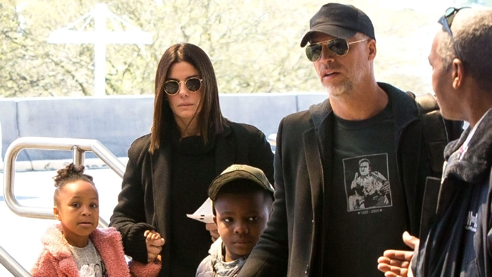 Sandra Bullock and Boyfriend Bryan Randall Spend Time With