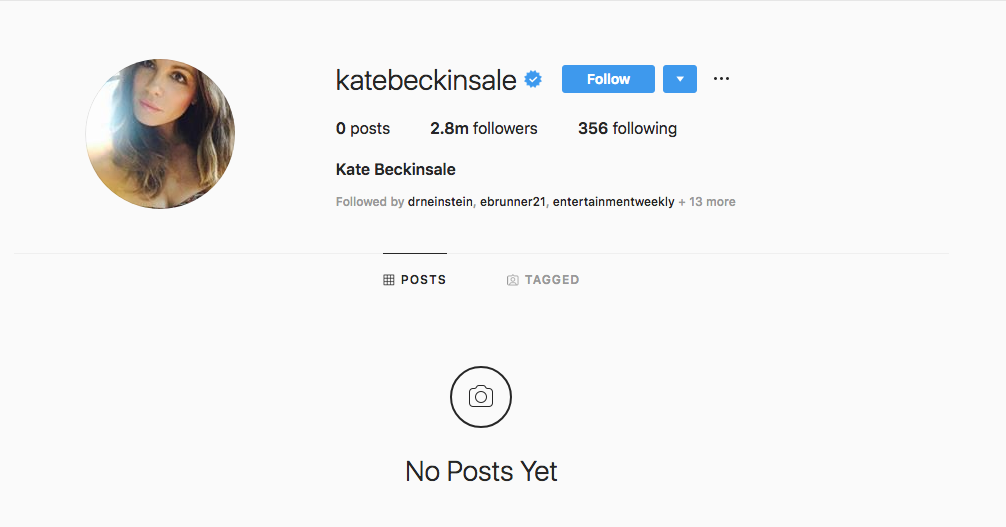 Kate Beckinsale Suddenly Deletes Instagram and Fans Are Begging for Answers: 'Which A—hole Did Something?'