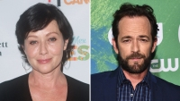 Shannen Doherty Tribute to Luke Perry