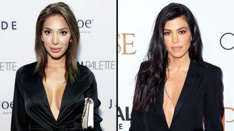 Did Farrah Abraham Really Rip Off Kourtney Kardashian? The