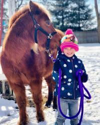 Tyler Baltierra buys Nova a pony