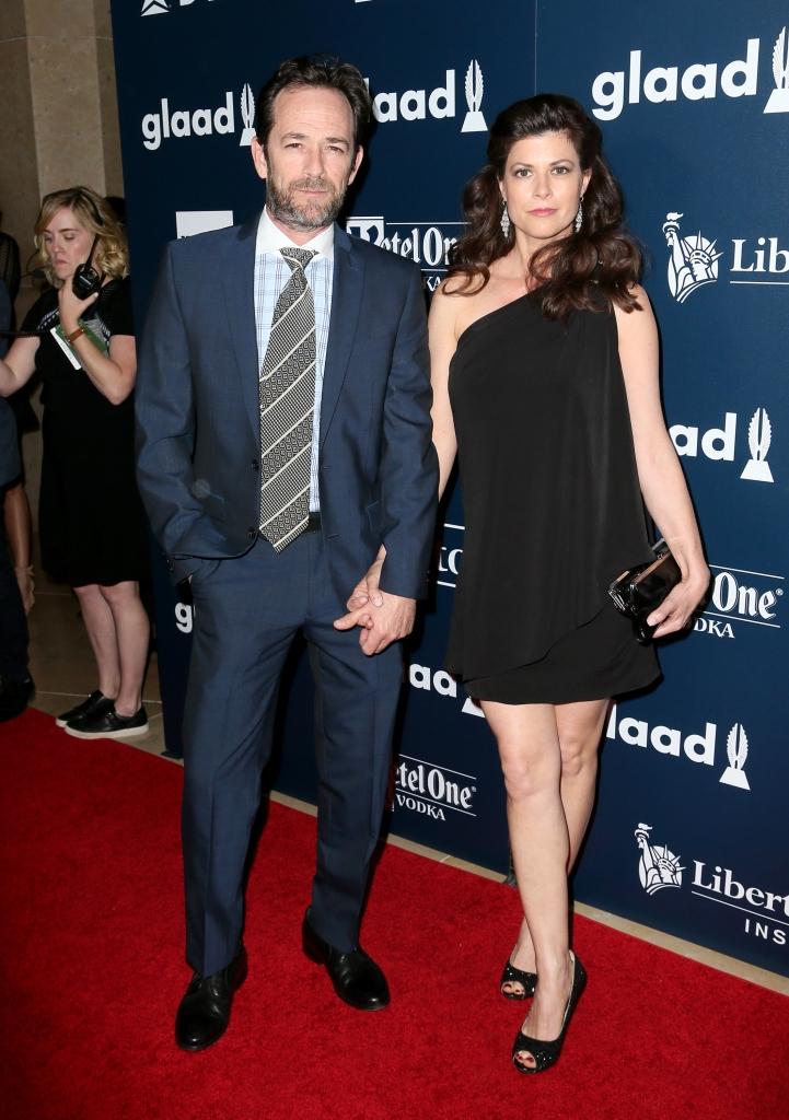 Image result for luke perry wendy bauer