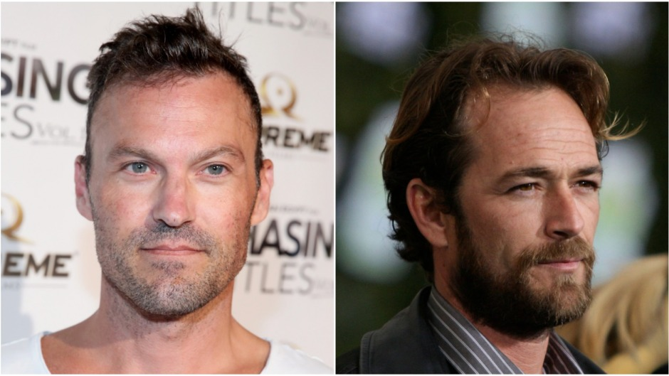 brian austin and luke perry