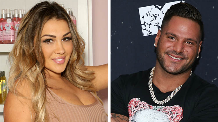 Jersey Shore': Ronnie and Jen Reunite for Daughter's 1st Birthday