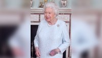 Ouch! Queen Elizabeth's Hand Is Completely Purple in New Photos