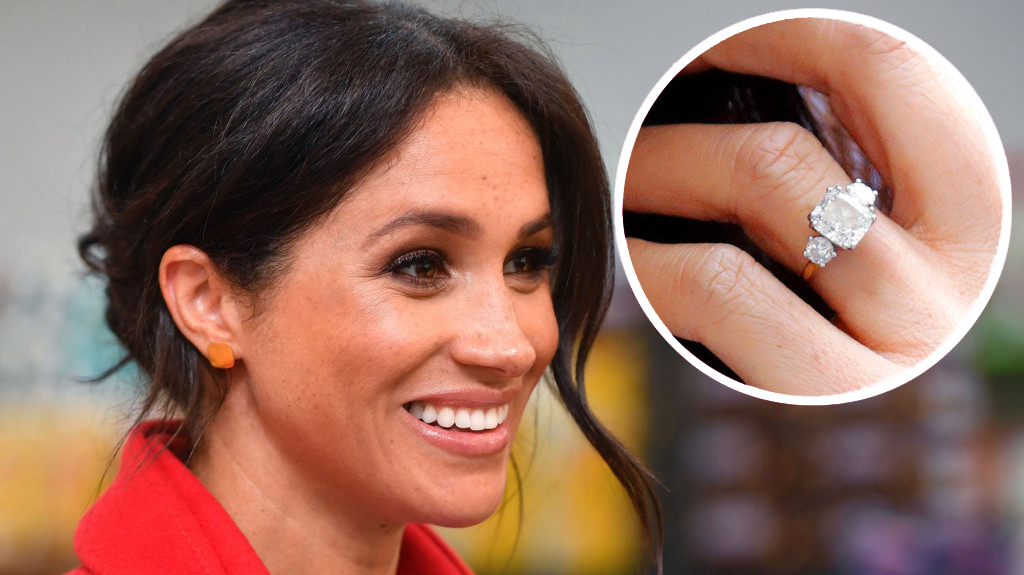 Meghan Markle Steps Out Without Wearing Her Engagement Ring