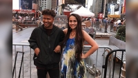 Ahmir Steward and Jazz Jennings in New York