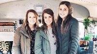 Anna Duggar With Jana and Laura DeMasie