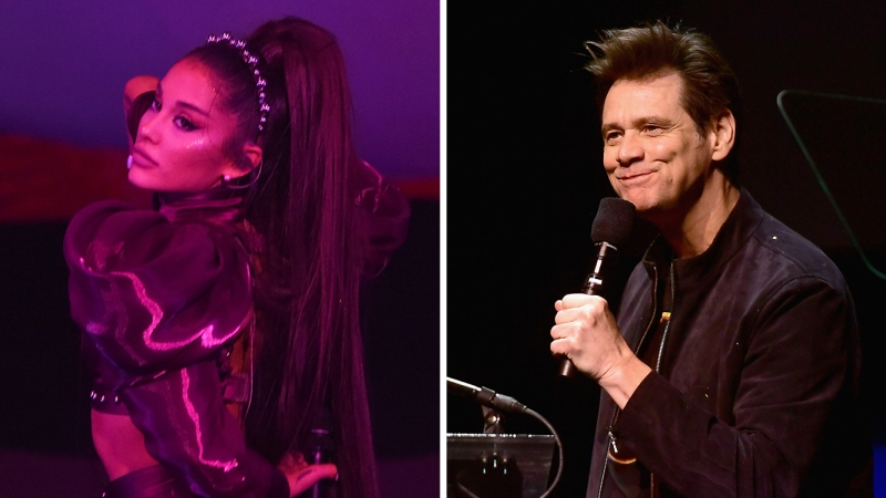 Jim Carrey and Ariana Grande Share Heartfelt Exchange About Depression: 'I Admire Your Openness'