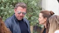 Ben Affleck with Jen Garner