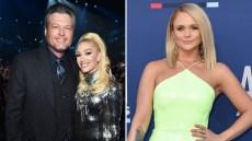Blake Shelton and Gwen Stefani 'Don't Even Care' About Miranda Lambert's ACM Awards Show Shade