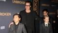 Brad Pitt With His Kids