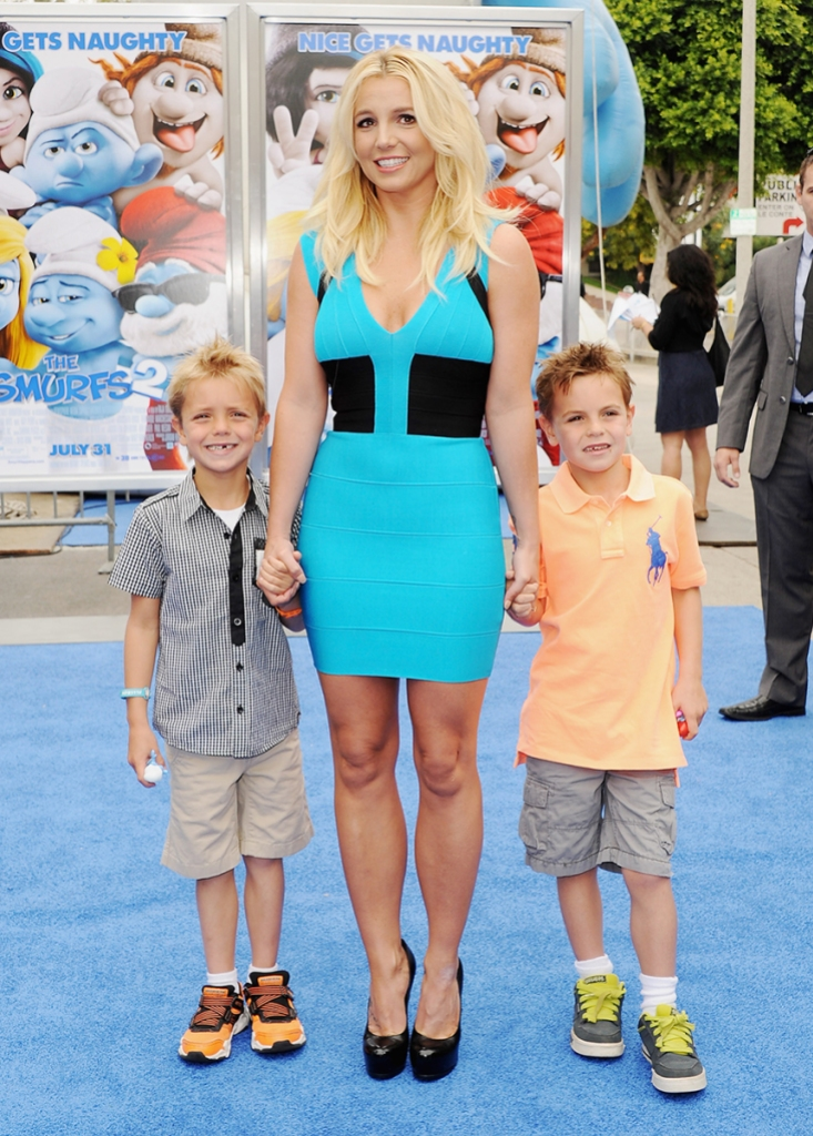 Britney Spears Boyfriend and Her Sons Can Visit Her at Wellness Center