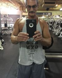 Butch Baltierra Gym Selfie