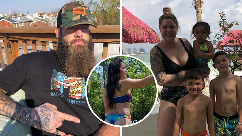 David Eason Slams Kailyn Lowry with Jenelle Evans Photo