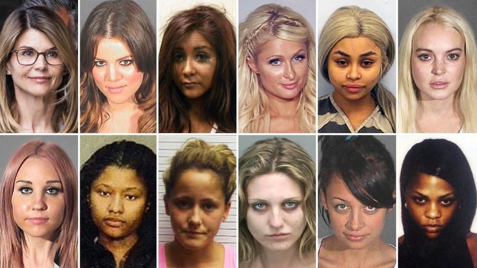 Female Stars Behind Bars