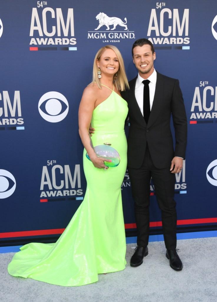 Miranda Lambert and husband ACM Awards