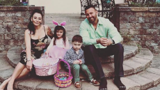 JWoww with Roger at Easter