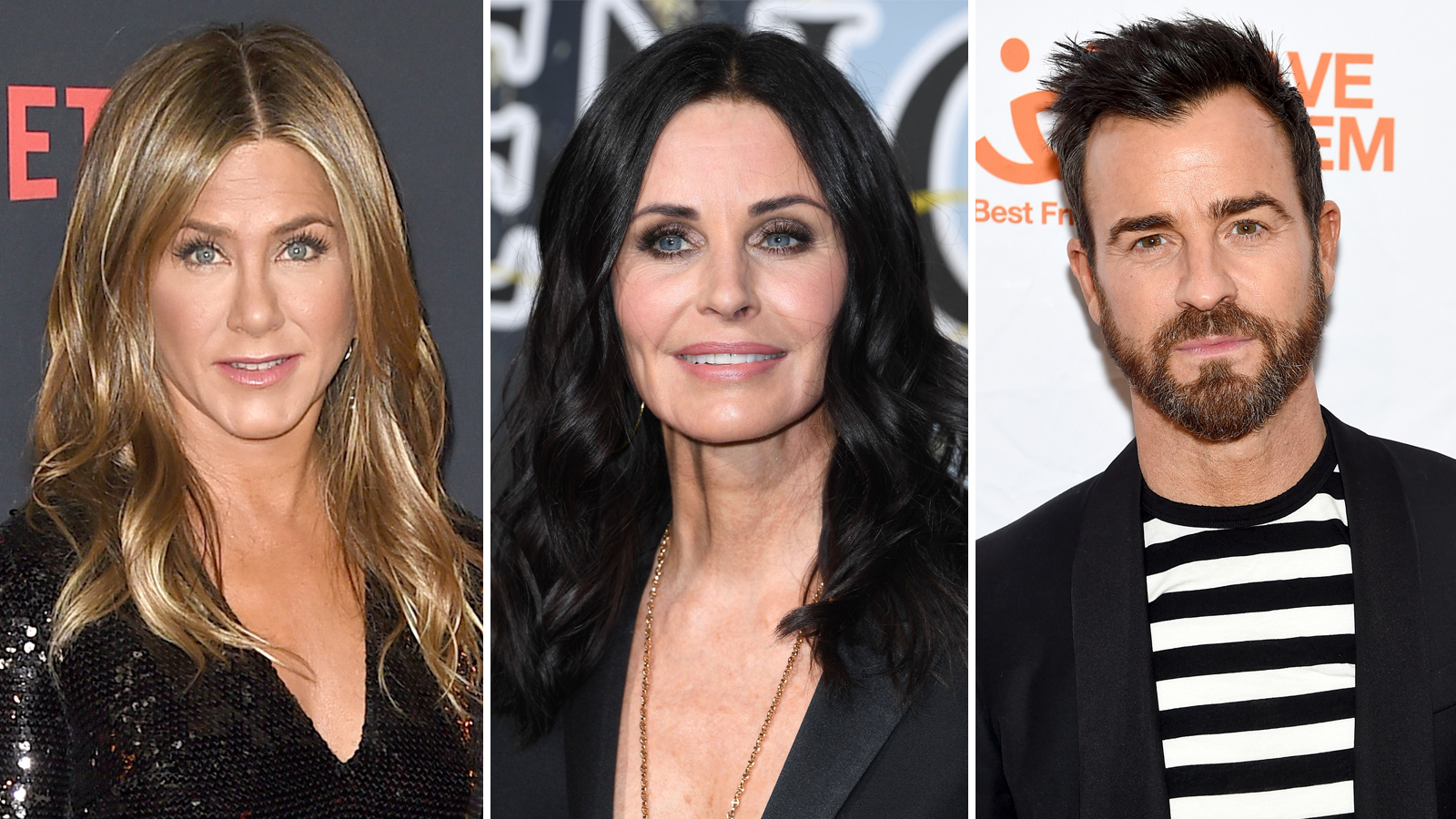 Jennifer Aniston's BFF Courteney Cox Shows Love on Ex-Husband Justin Theroux's Instagram