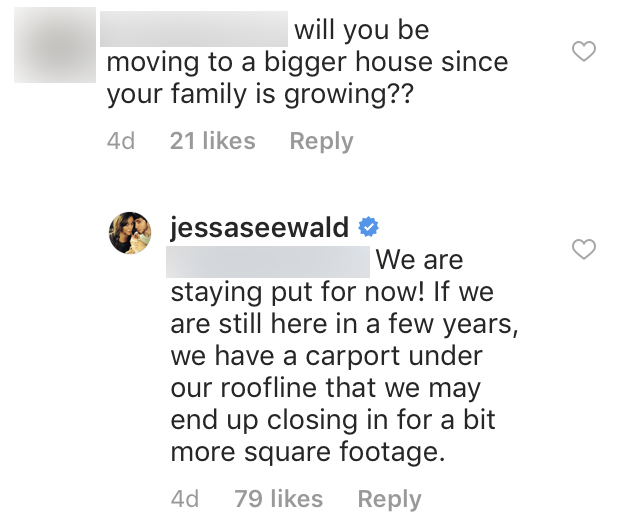 Jessa Duggar Says Family Is Staying Put