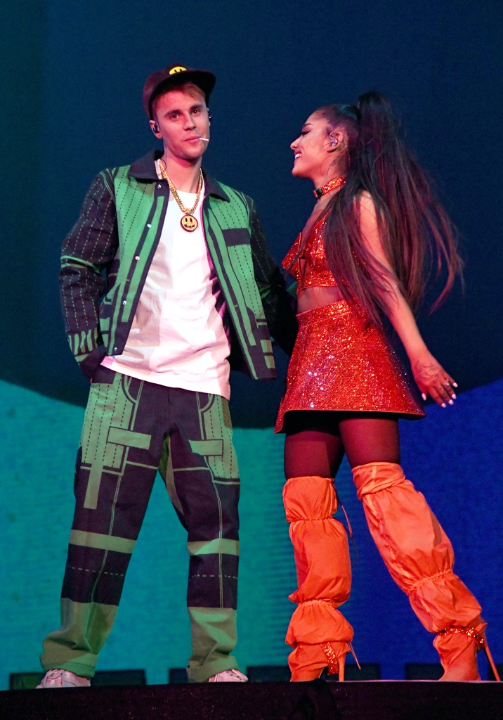 Fans Are Dragging Justin Bieber for Seemingly Lip-Synching Alongside Ariana Grande at Coachella