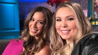 Kailyn Lowry and Vee Torres Snap Selfie