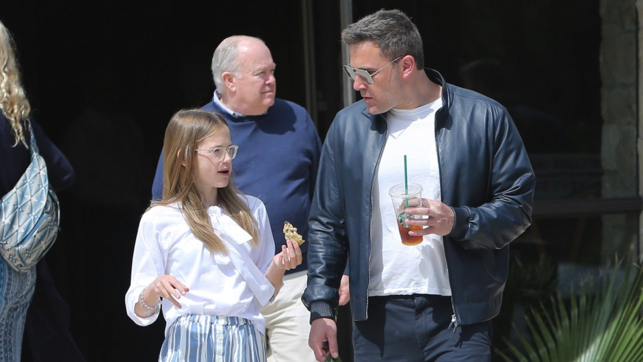 Ben Affleck Attending Church With Violet
