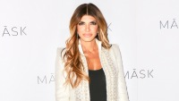 Teresa Giudice Wearing a White Jacket at an Event