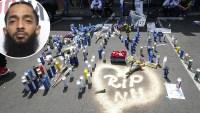 Nipsey-Hussle's-Marathon-Memorial