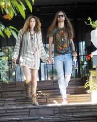 Paris Jackson and Her Boyfriend Gabriel Glenn Share a Kiss During Romantic Stroll in L.A.