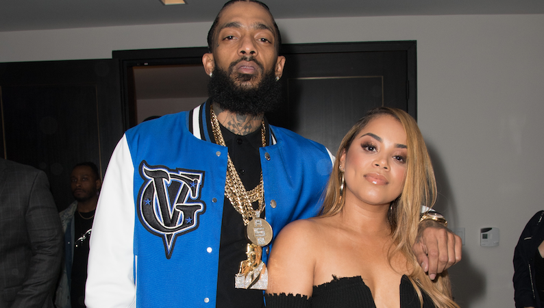 Nipsey Hussle's Girlfriend Lauren London Honors Rapper With Stunning Tattoo: 'When You See Me, You Will See Him'