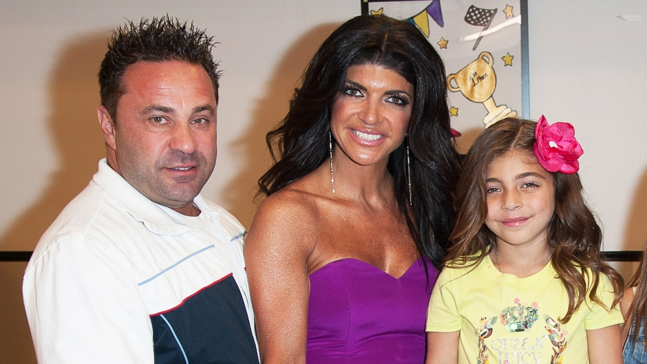 Teresa Giudice Milania Fighting Dad