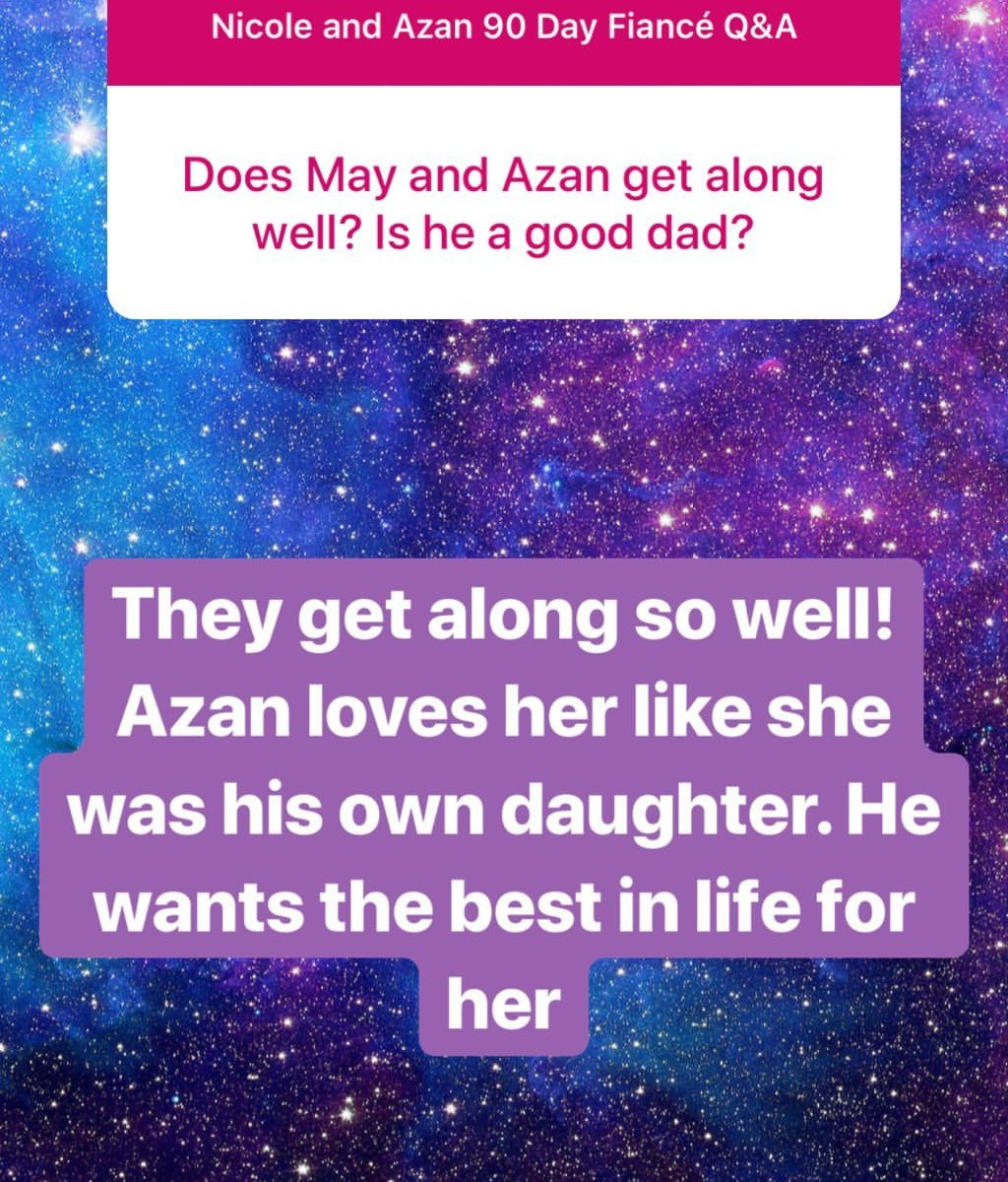 90 Day Fiance': Nicole Says Azan Is a Good Daddy to Daughter