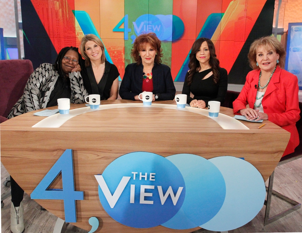 barbara walters the view