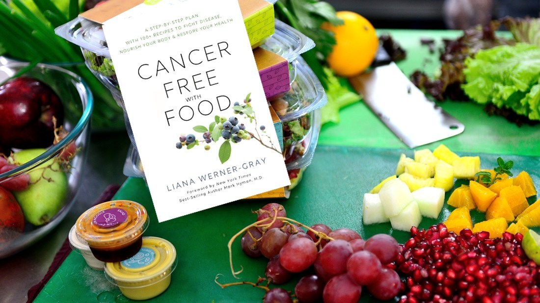 Liana Werner-Gray Releases New Book 'Cancer-Free With Food'