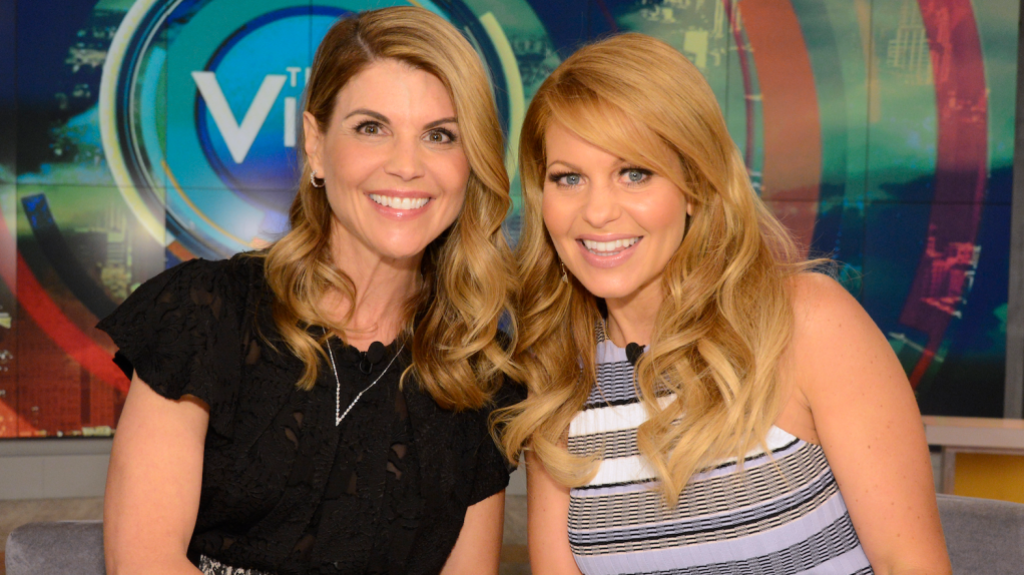 Candace Cameron Bure Will 'Stand By' Costar Lori Loughlin Amid Admissions Scandal: 'We Are Family'