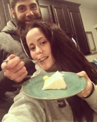 Jenelle Evans Eating Cake