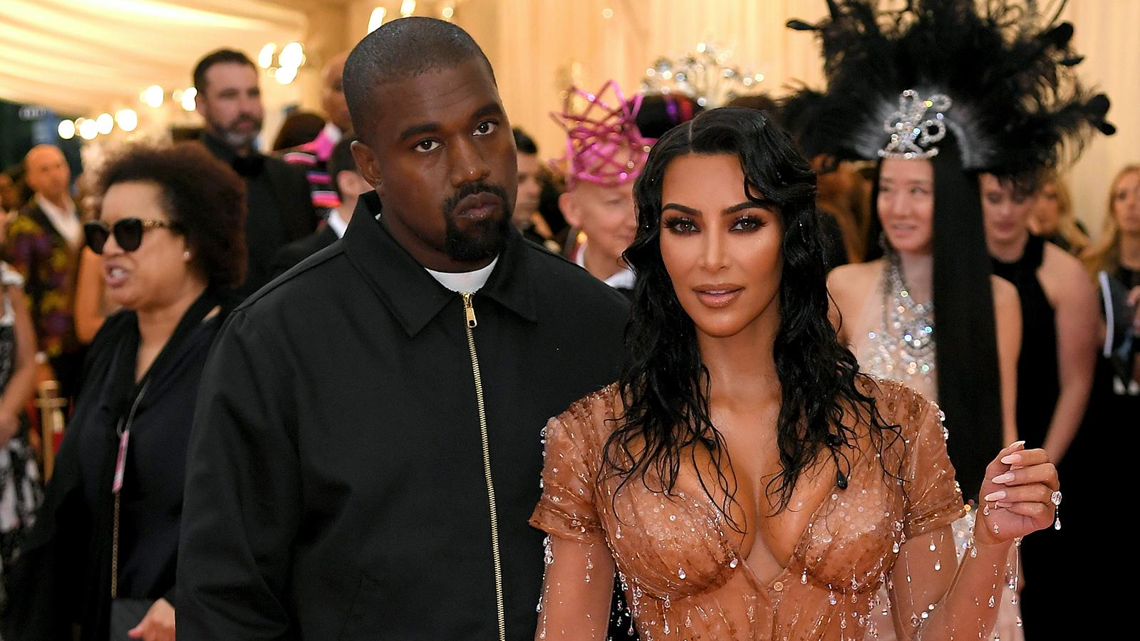 6ece0e3380fc2 Kim Kardashian and Kanye West Slay on the 2019 Met Gala Red Carpet