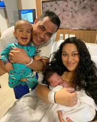 '90 Day Fiance' Star Kalani Shares First Photo of Newborn Son Kennedy 'With the Good Hair!'