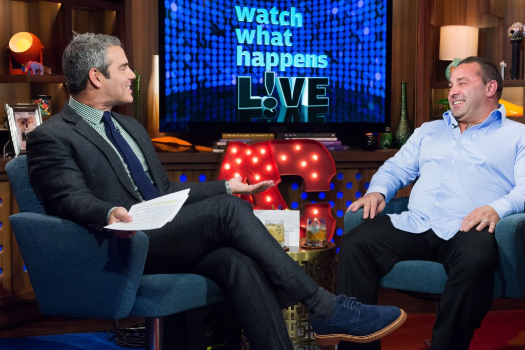 Andy Cohen Talking to Joe Giudice on Watch What Happens Live
