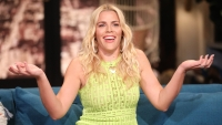 Busy Philipps Wearing a Yellow Dress on Busy Tonight