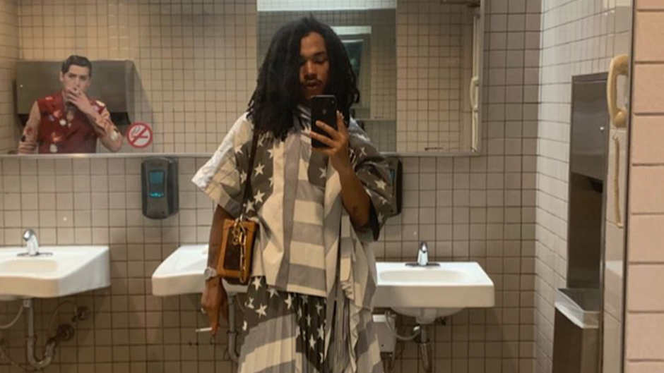 Cole Sprouse Smokes in the Bathroom With Luka Sabbat